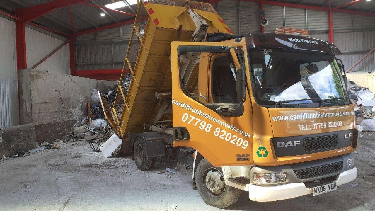 Cardiff Rubbish Removals Truck